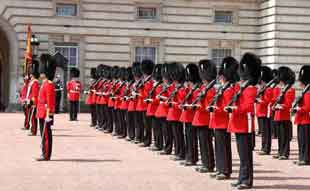 Grenadier Guards Changing the Guard at Buckingham Palace