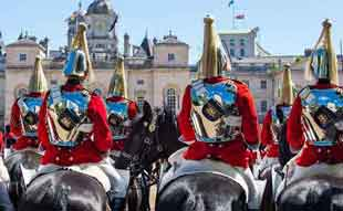 Changing The Queen's Life Guard on Horse Guards Parade