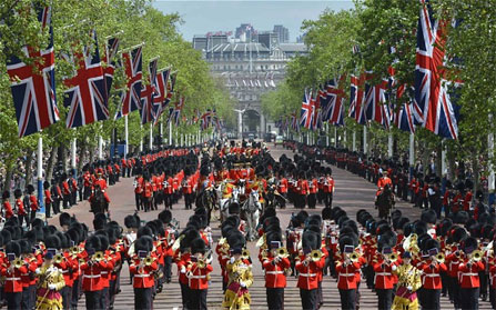 Queen's Birthday Parade returns to Buckingham Palace