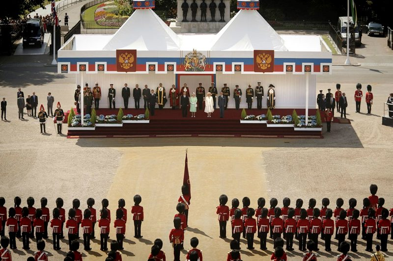 Ceremonial welcome for State Visit