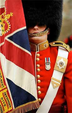 Coldstream Guards Regimental Colours