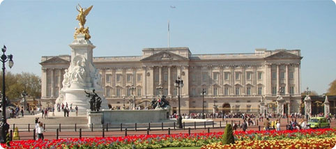 Buckingham Palace and the Victoria Monument