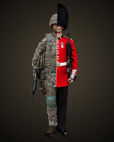 Combat and ceremoinial the dual role of the Guards