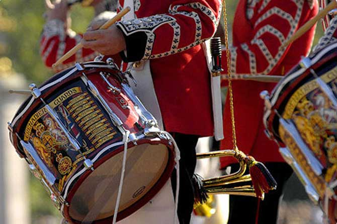 Drums of the Band of the Grenadier Guards