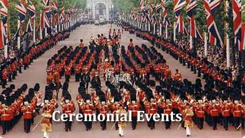 Frequently asked Questions about Ceremonial Events
