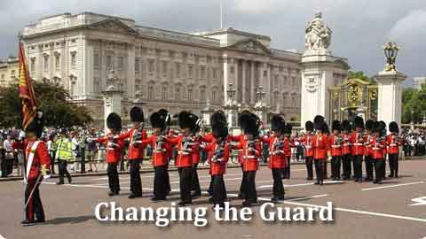Link to FAQ's about the Changing of the Guard ceremonies
