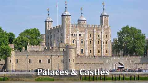Frequently asked questions about the Palaces and Castles which are opn to the public