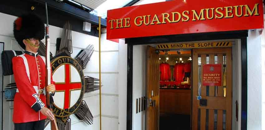 The Guards Museum, Birdcage Walk, London