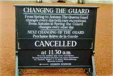 Changing the Guard cancelled