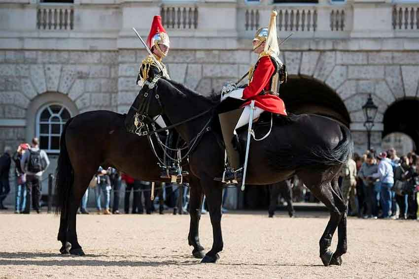 Hand over on Horse Guards Parade