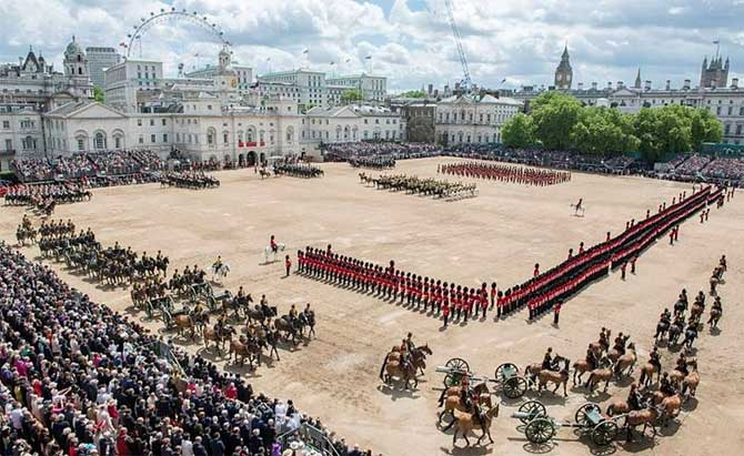 Queen's Birtday Parade, Horse Guards Parade