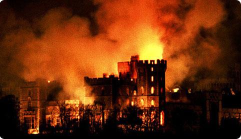Windsor Castle Fire, 1992 - Archive Fever