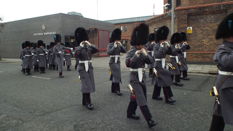 1st Battalion Irish Guards Corps of Drums