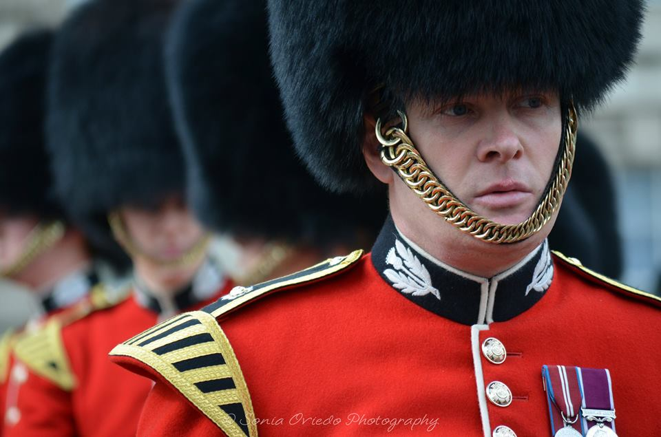 Bandsman from the Band of theScots Guards