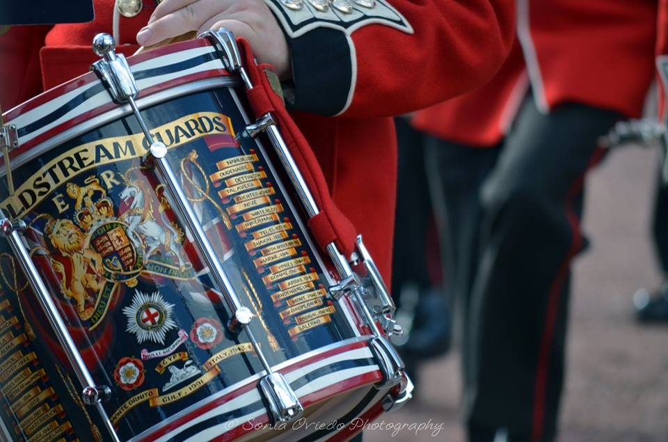 Band of the Coldstream Guards at Buckingham Palace