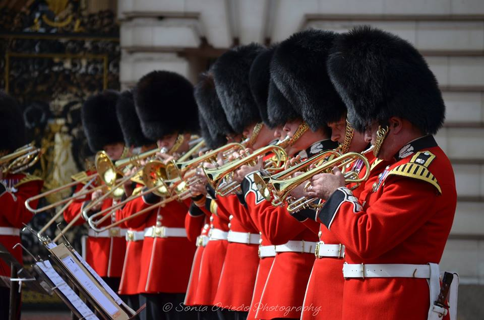 Band of the Scots Guards - Brass Section Hard at Work