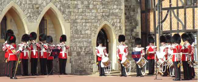 Coldstream Guards Corps of Drums - Windsor Castle