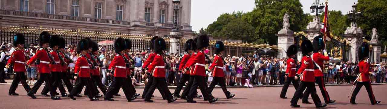Irish Guards at Buckingham Palace