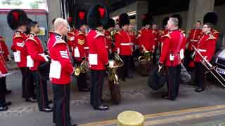 Behind the scenes in Wellington Barracks