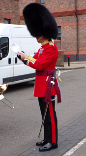 Irish Guards Band Director of Music