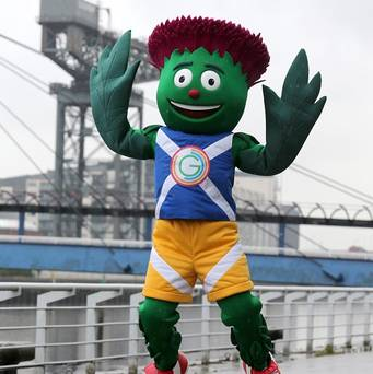 Clyde the Commonwealth Games Mascot