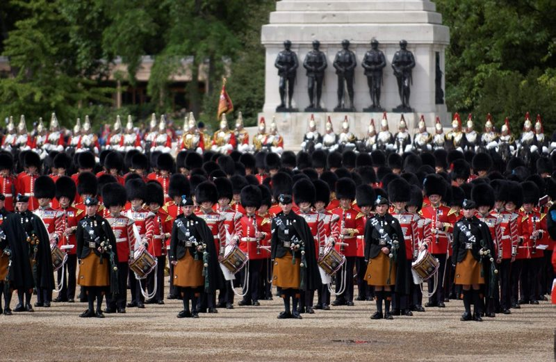 Queen's Birthday Parade, Trooping the Colour - the highlight of the ceremonial calendar