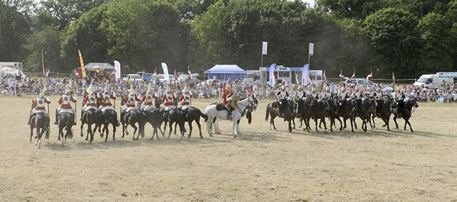 Household Cavalry Mounted Regiment open day