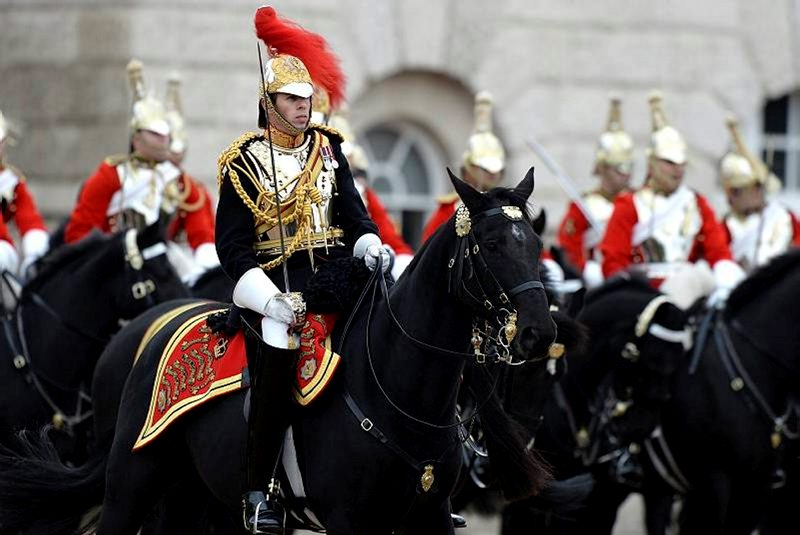 Soveriegns Escort from the Household Cavalry Mounted Regiment