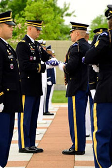 #rd US Infantry, the official ceremonial unit of the US Army