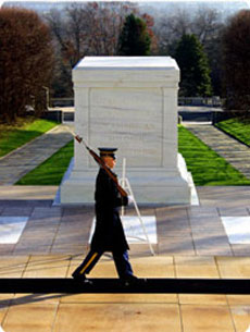 Sentry at the Tomb of the Unknown Soldier