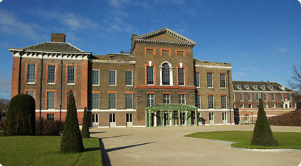 Kensington Palace the London residence of Prince William and Kate