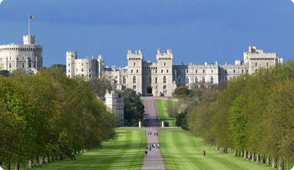 Windsor Castle from Great Park