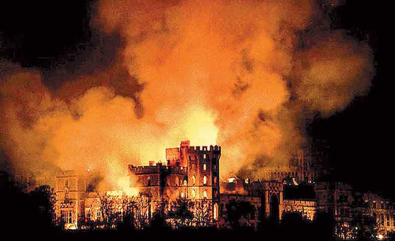 1992 fire at Windsor Castle