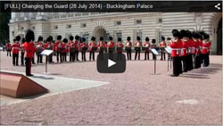 Changing the Guard video