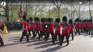 Band of the Coldstream Guards & F Company Scots Guards