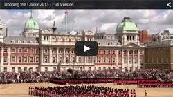 Trooping the Colour laso known as The Queen's Birthday Parade