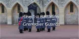 Grenadier Guards at Windsor Castle