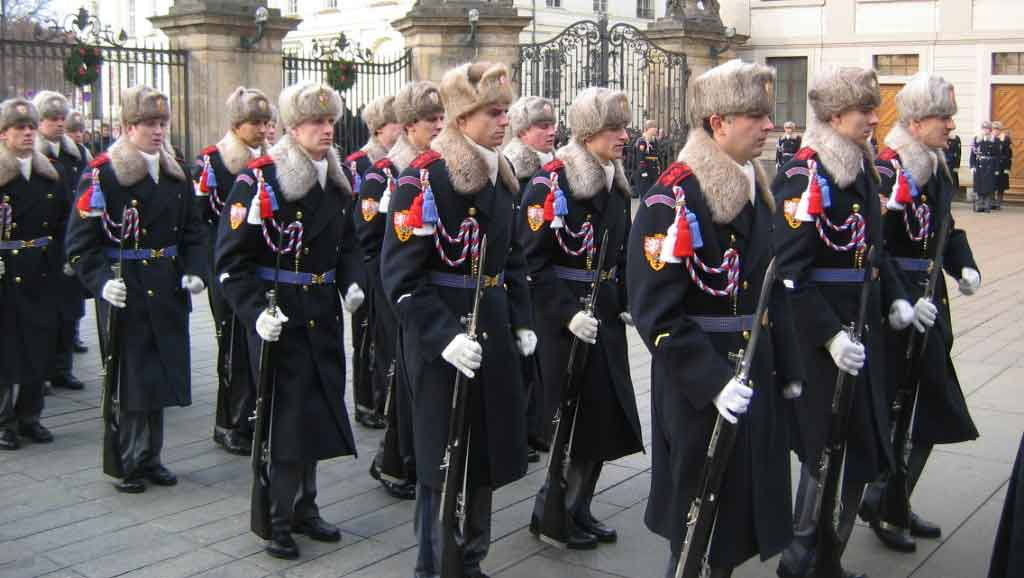 Changing the Guard at Prague Castle